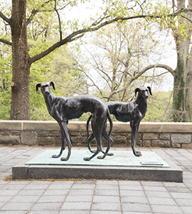Greyhound Statue FAC