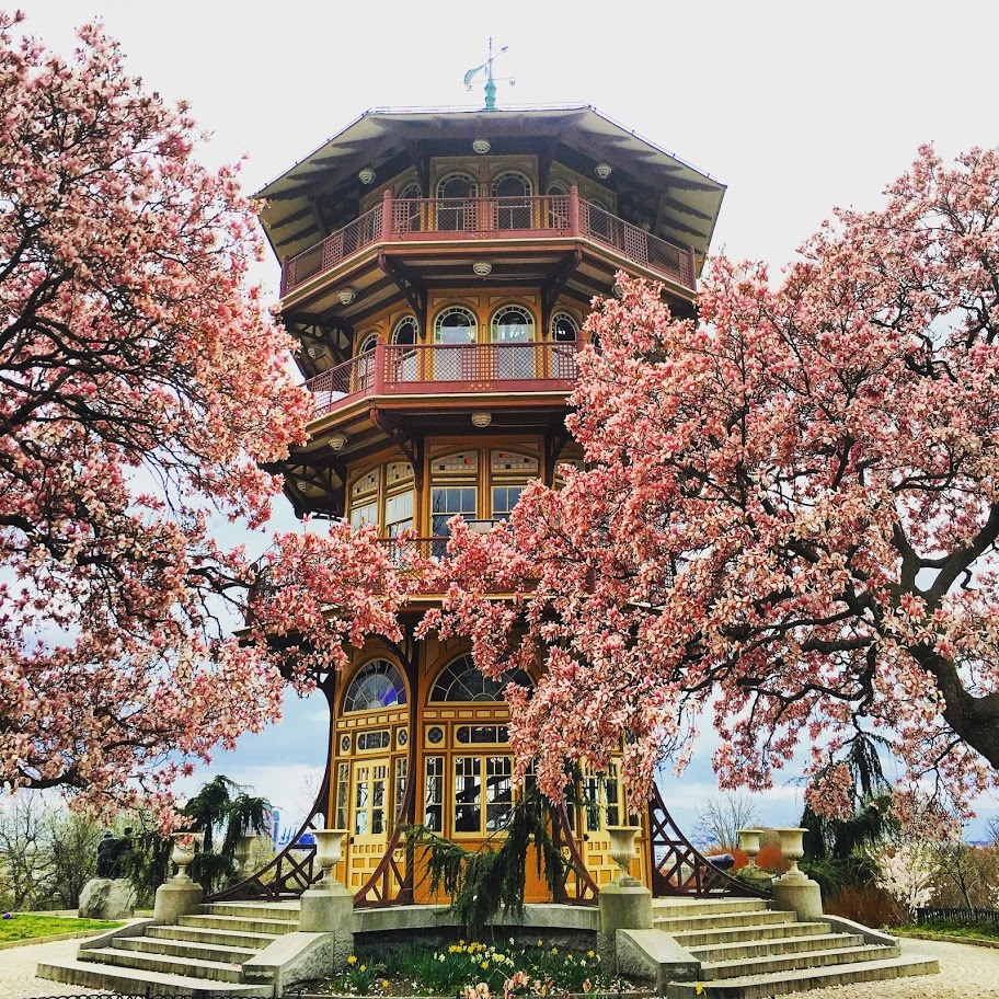 The Pagoda at Patterson Park