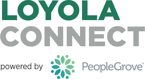 Loyola Connect. Powered by PeopleGrove